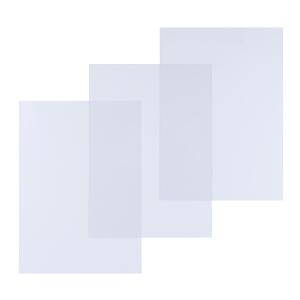 Pavo 8008568 couvertures A4 in PVC 150 micron transparentes - paquet de 100