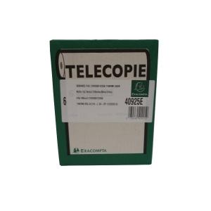 Lyreco rouleau de fax 210x30x12 - paquet de 6