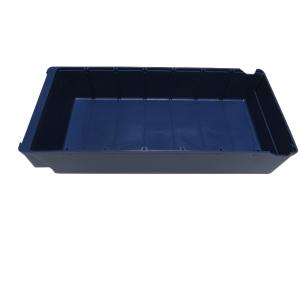 Tiroir de rangement 00250279 L40 x B 18x8 x H 8 Bleu