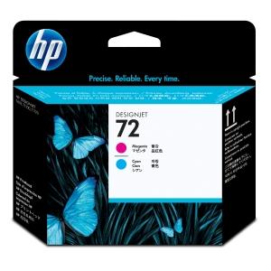 HP C9383A tête impression cartouche jet d encre nr.72 bleue/rouge [30.000 pages]