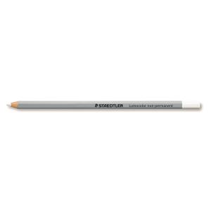 Staedtler Lumocolor Omnichrom crayon blanc - boite de 12