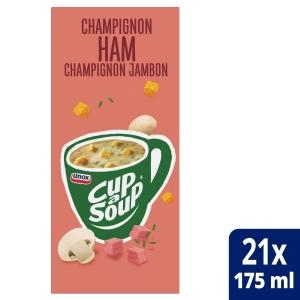 Cup-a-soup sachets soupe champignons/bacon - boîte de 21