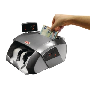 Reskal bill counter with counterfeiting detector