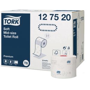 Tork Soft papier hygiénique voor T6 Mid Size - paquet de 27