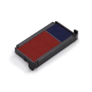 Trodat 6/4912 feutre bleu/rouge pour 4912/2 Eco Printy Office - Paquet de 2