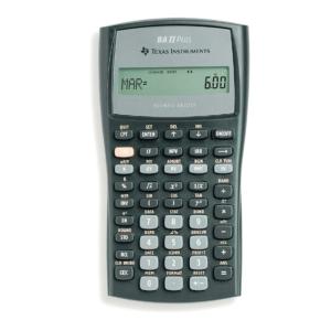 TI BA-II+ calculatrice financière - 10 chiffres