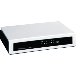 MCAD switch réseau 5 ports