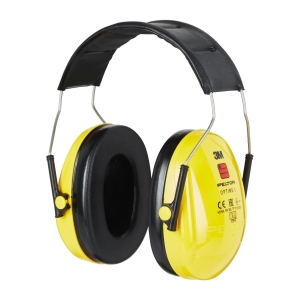 3M Peltor Optime I casque auditif 28 dB jaune