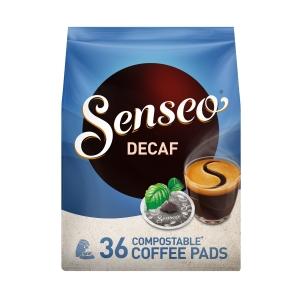 Senseo pads café décaféine 7g - paquet de 36
