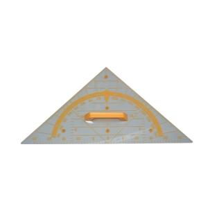 Equerre géométrique pour tableau transparent 60 cm