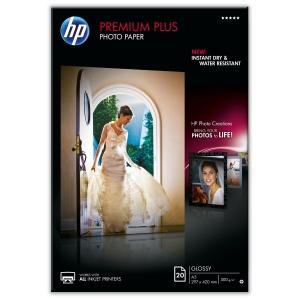 HP CR675A Premium Plus papier photo jet d encre A3 300g - paquet de 20 feuilles
