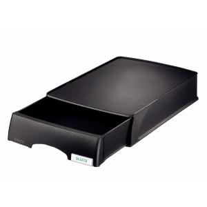 Leitz Plus 5210 bac à courrier avec tiroir noir