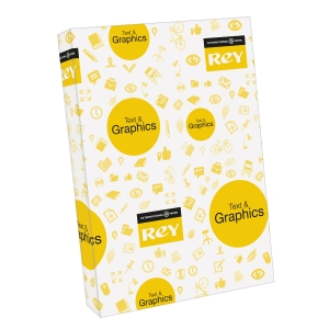 Rey Text & Graphics white paper A3 120g - pack of 250 sheets