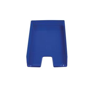 Bac à courrier bleu