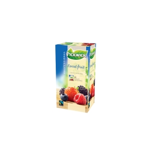 Pickwick sachet thé Fruits de bois - paquet de 3 x 25
