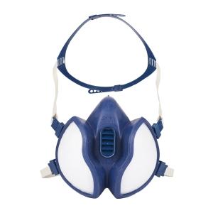 Demi masque anti gaz 3M FFABEK1P3R D 4279 à filtres intégrés réutilisable+F5:F6