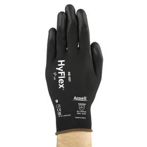Ansell Hyflex 48-101 gants de précision - taille 9 - le paquet de 12 paires