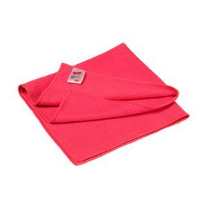 3M Essential chiffon en microfibres rouge - paquet de 10