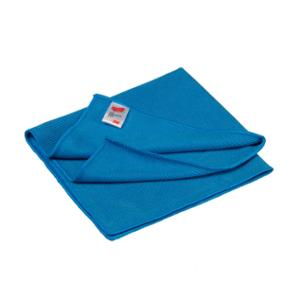 3M Essential chiffon en microfibres bleu - paquet de 10