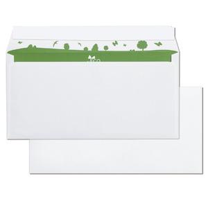 Bong Be Eco enveloppes 114x229mm sans fenêtre - boite de 500