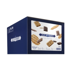Jules Destrooper, Jules Selection biscuits 6 varietés 6,5 g - paquet de 300