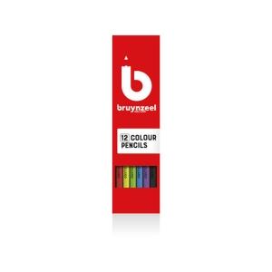 Bruynzeel Triple Grip crayons - le paquet de 12