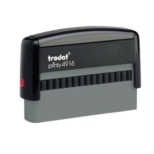 Trodat Printy 4916 tampon personnalisable 70 x 10mm 2 lignes