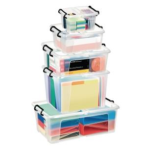 Strata boîte de rangement plastique 1,7 litre
