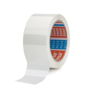 Tesa 4024 PP ruban adhésif 50 mm x 66 m blanc - paquet de 6