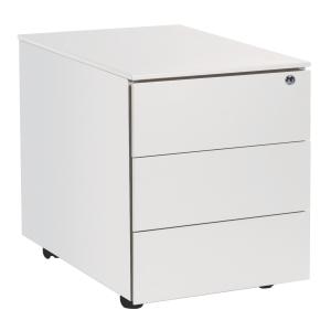 Caisson 42x53,5x50,3 cm 3 tiroirs blanc