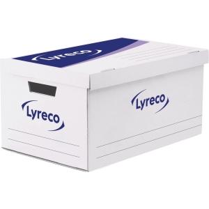 Lyreco conteneur pour 5 boîtes d archives à montage automatique