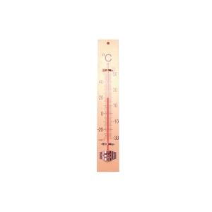 Bouhon thermometre en bois 24 x 24 cm