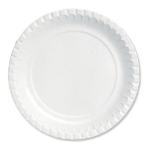 Duni assiette carton 18 cm - le paquet de 100