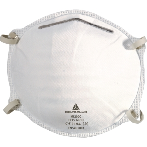 Delta Plus M1200C masque à poussière jetables FFP2 sans valve - la boîte de 20