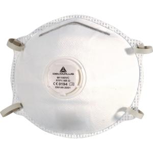 Delta Plus M1100V masques jetables FFP1 avec valve - la boîte de 10