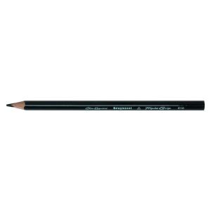 Bruynzeel Triple Grip crayons - noir  - le paquet de 12
