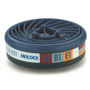 Filtre à gaz Moldex EasyLock 9300 Gas filter A1B1E1 pour 7000/9000 - boîte de 10