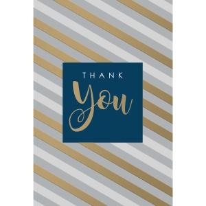 cartes de voeux merci beaucoup - paquet de 6