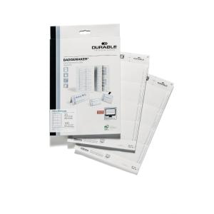 Durable 1456 cartes à insérer pour badge 90x60mm - 8 par flle - boite de 160