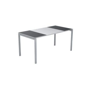 Paperflow Easydesk bureau 160x80 fusain/blanc