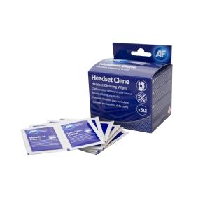AF Headset Clene lingettes de nettoyage - le paquet de 50