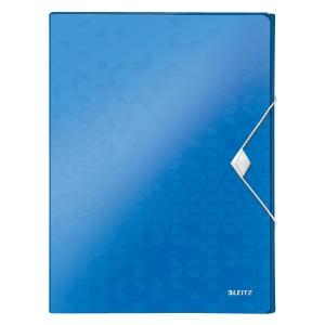 Leitz 4629 WOW boîte à documents PP 30mm bleu