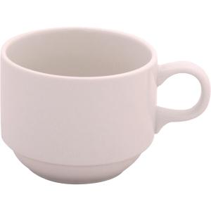 Tasse solide en porcelaine 218 ml - paquet de 6