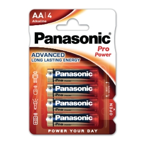 Panasonic LR6/AA Pro Power alkaline batterie - paquet de 4
