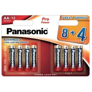 Panasonic LR6/AA Pro Power piles alcaline - paquet de 12