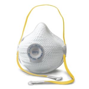 Masque à poussière Moldex Air 3205 FFP3 avec valve ventex - boîte de 10