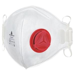 Masque à poussière jetable Deltaplus M1300VB, FFP3, avec valve, paquet de 10