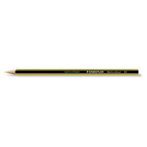 Staedtler Noris crayons couleur - jaune clair  - le paquet de 12