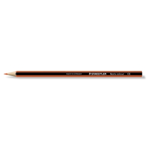 Staedtler Noris crayons couleur - orange  - le paquet de 12