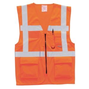 Portwest S476 gilet Executive hi-viz orange - taille L